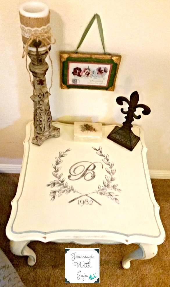 05 - Journey's with Juju - DIY French Side Table