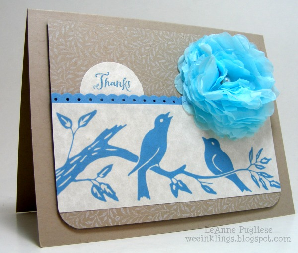 05 - Wee Inkling - Birds Thank You Card