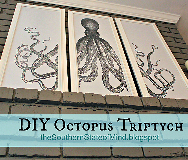 11 - The Southern State of Mind - DIY Octopus Triptych