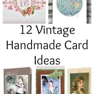 12 Vintage Handmade Card Ideas