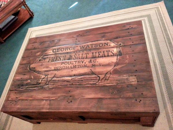 13 - Kathy - DIY Rustic Butcher Crate Table
