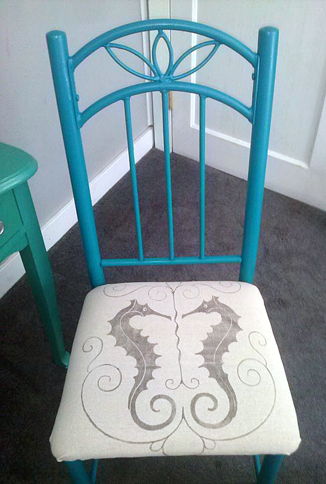 14 - Patty Williams - DIY Seahorse Chair