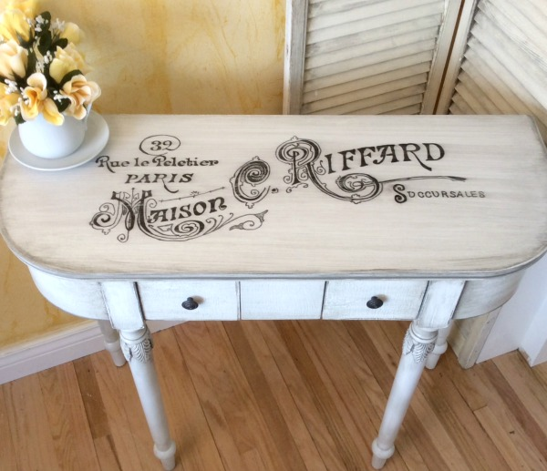 15 - Rose - French Table