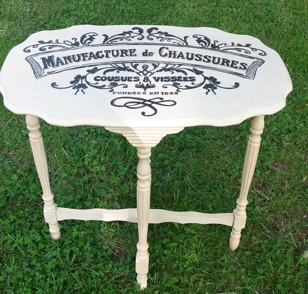 16 - DIY French Accent Table