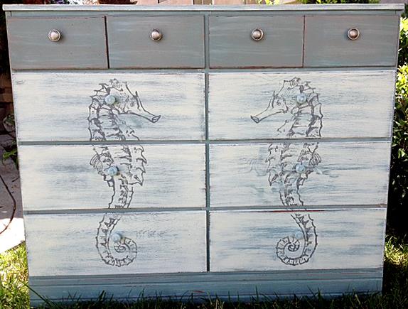 17 - Annie Spackman - DIY Seahorse Dresser