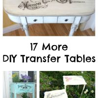 17 DIY Transfer Table Projects