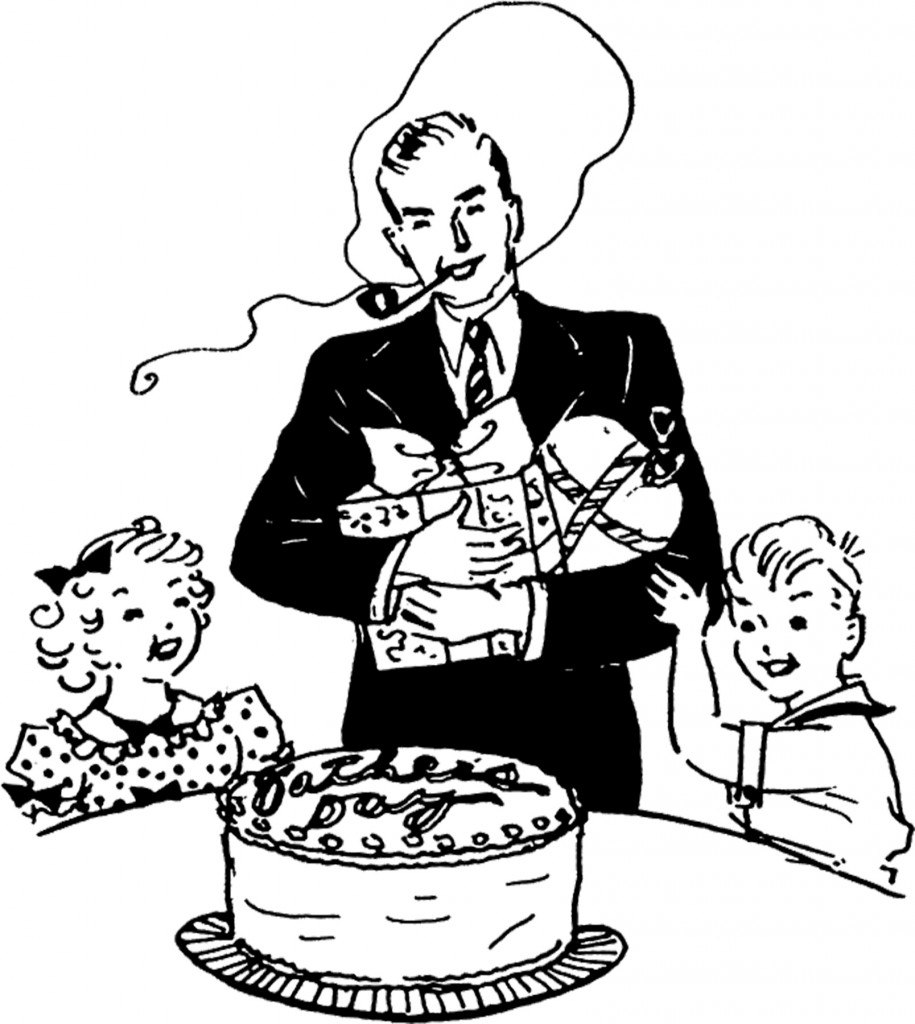 Father's Day Cake Image