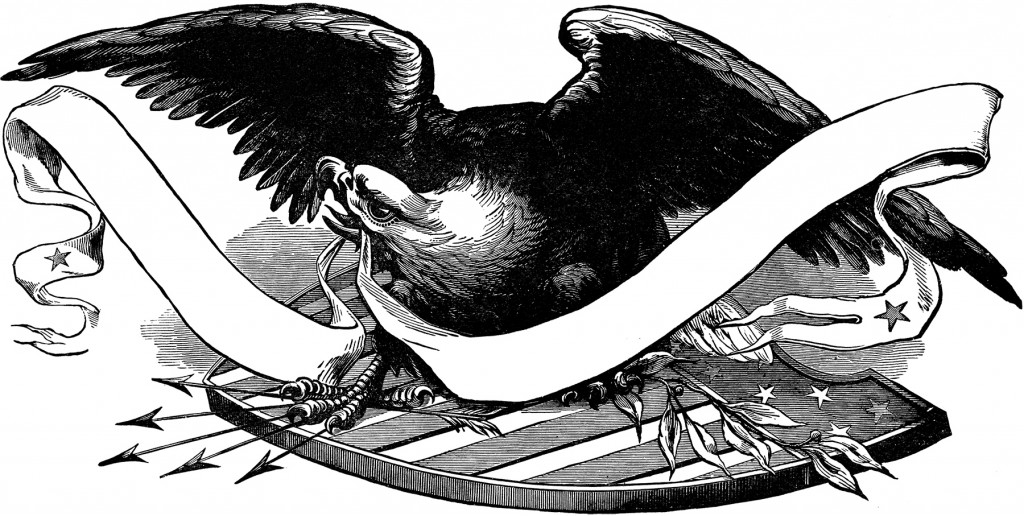 Public Domain Patriotic Eagle Image