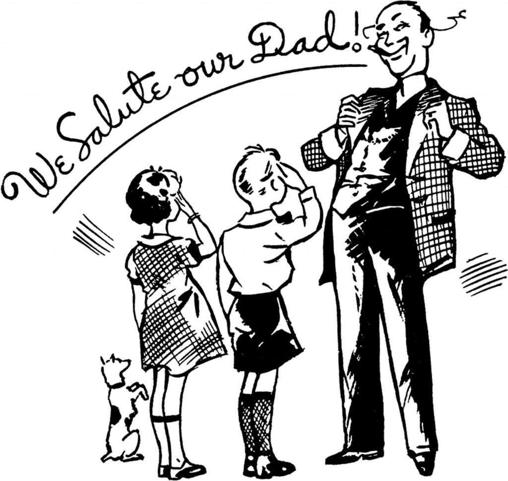 Retro Father's Day Image