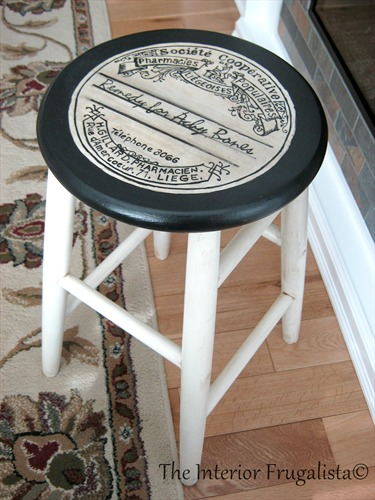 Diy Stool Makeover Reader Feature The Graphics Fairy