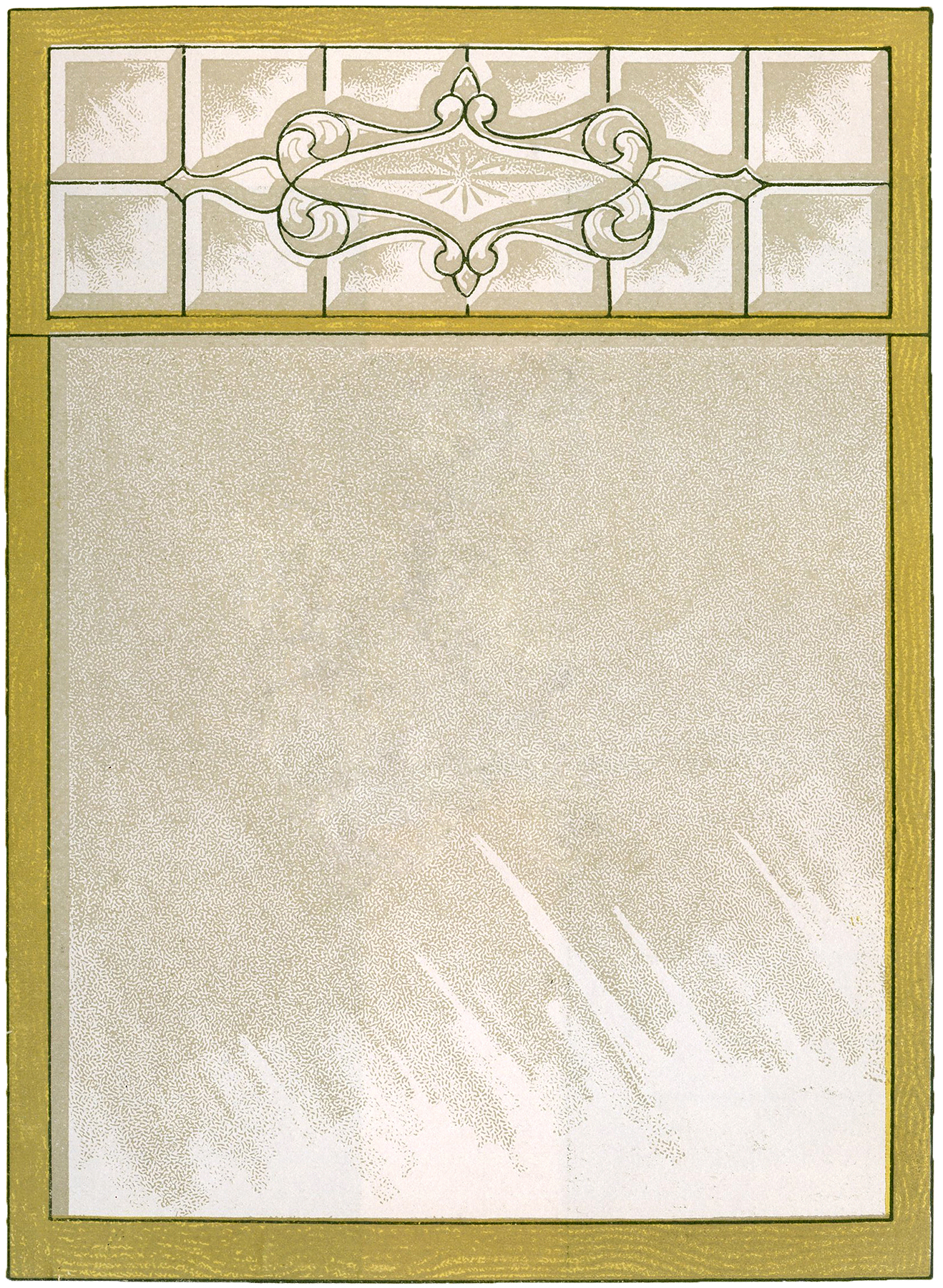 Vintage Glass Window 46