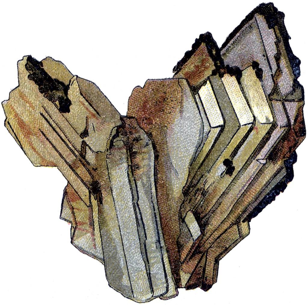 Vintage Rock Crystals Image