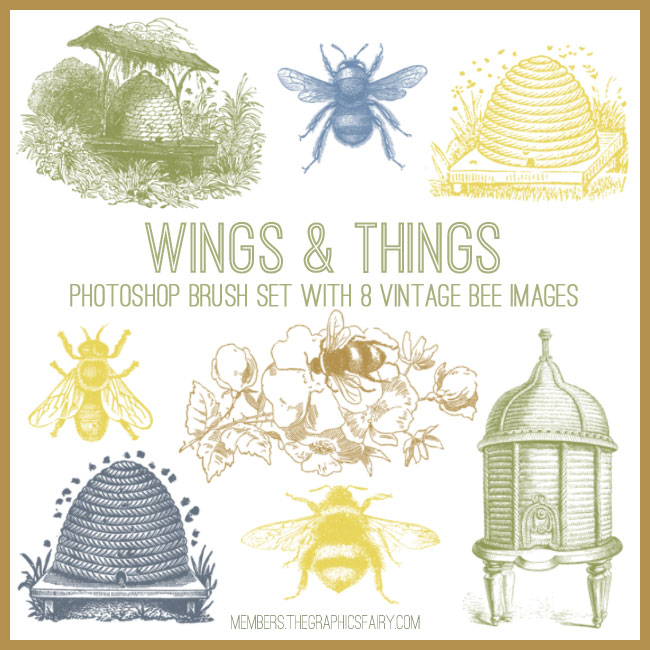 bee_brushes_graphicsfairy