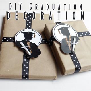 DIY Graduation Decoration with Free Printable!