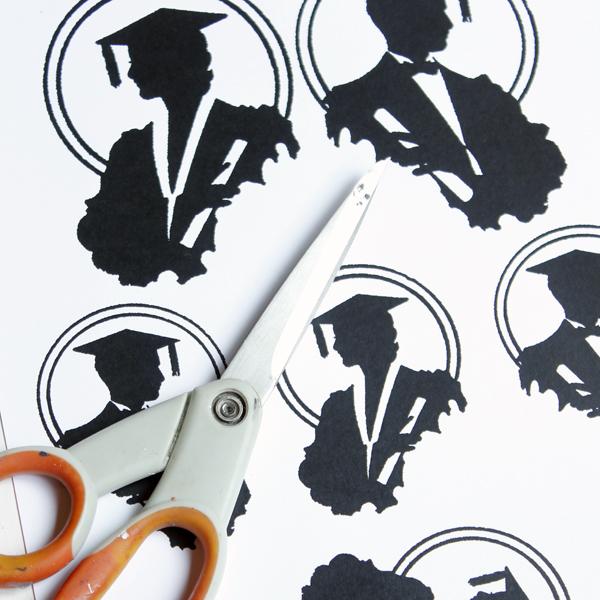 Diy graduation decoration with free printable the graphics fairy graduation 2 negle Gallery