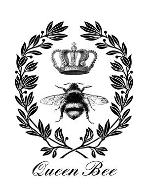 queen_bee_printable_graphicsfairy