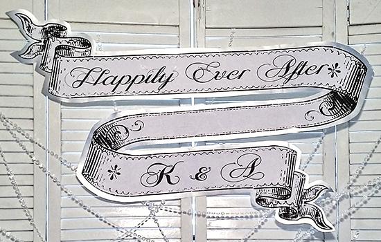 03 - Sugar N Sparkle - Engagement Party Banner