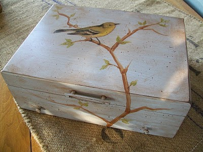 04 - Cottage Hill - Decoupaged Box
