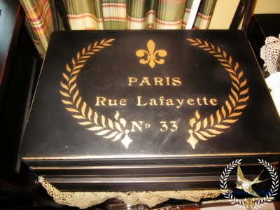 06 - Feathers and Flight - Paris Decorated Box
