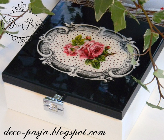 07 - Deco-Pasja Blog - Rose Decorated Box