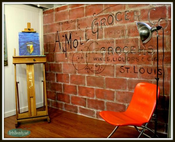09 - Art is Beauty - Playroom Turned Art Studio