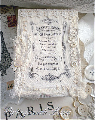 11 - Vintage with laces - French Lace Box