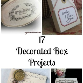 17 DIY Decorated Box Projects