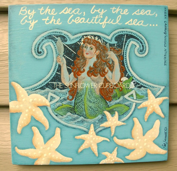 Diy Mermaid Wall Decor : Diy vintage wall decor ideas the graphics fairy