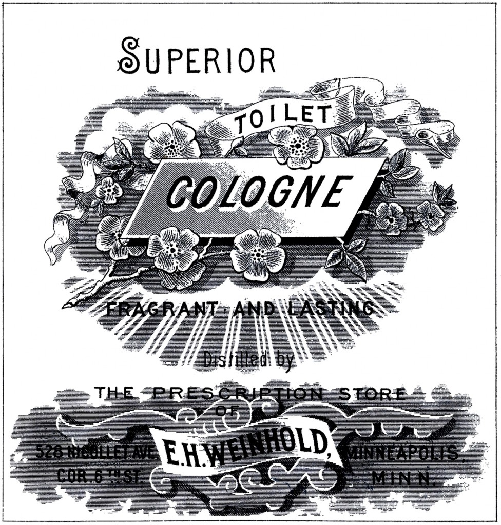Antique Cologne Label Image