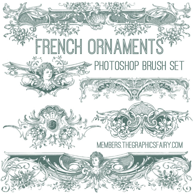 French_ornaments_brushes_graphicsfairy
