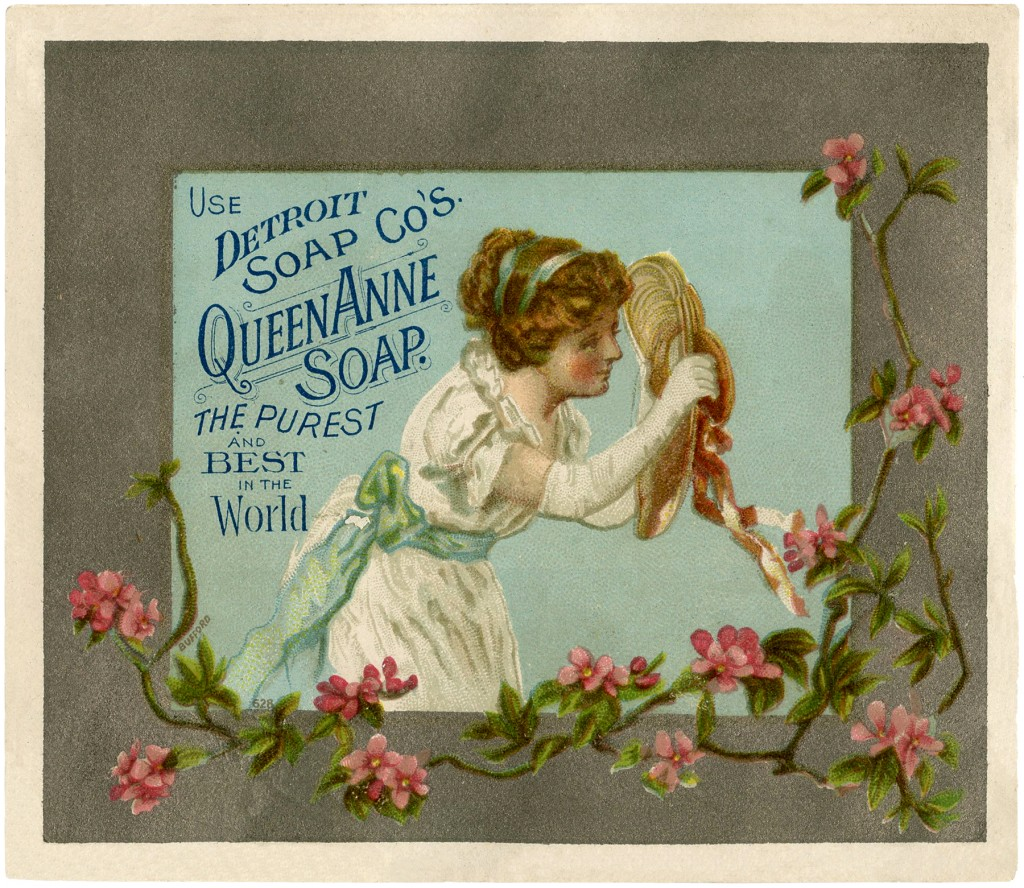 Old Fashioned Wedding Songs: Old Soap Advertising Image!