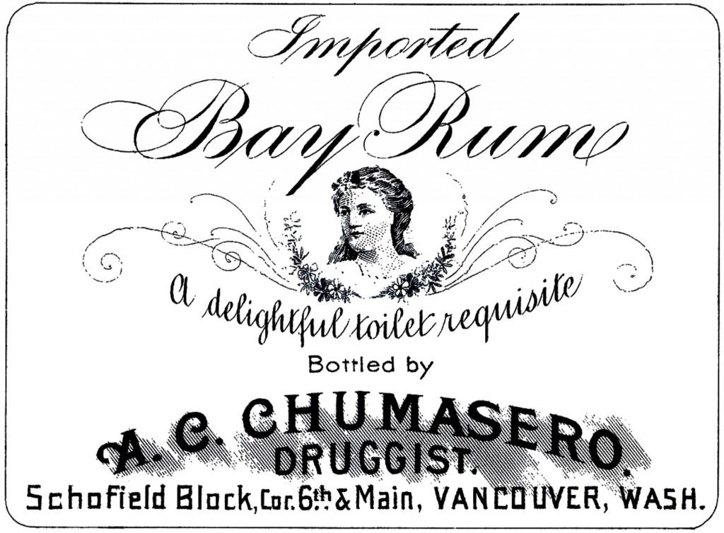 Pretty Vintage Drug Store Label