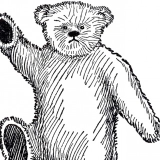 Public Domain Teddy Bear Image – Cute!