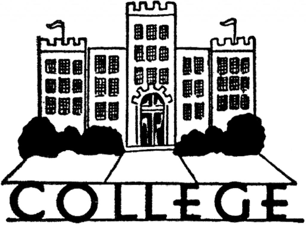 Vintage College Image