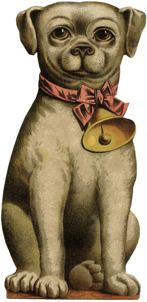 Vintage Quirky Dog Image