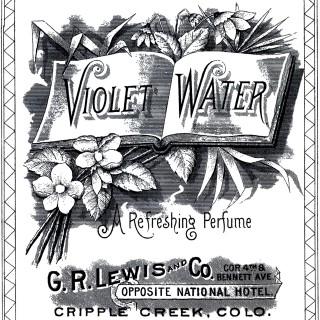Vintage Violet Water Image!