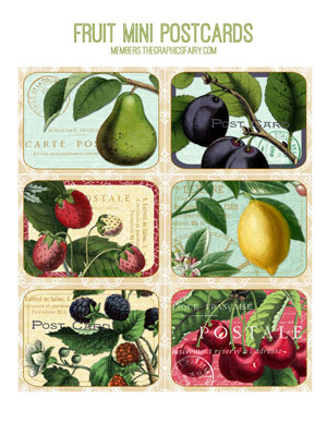 fruit_mini_postcards_graphicsfairy