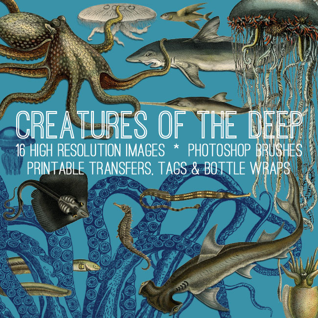 Creatures of the Deep Kit