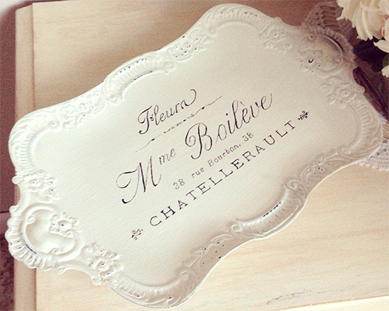 01 - JM Finds and Designs - French Serving Tray