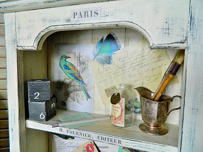 02 - Sweet Girl Expressions - Paris Bird Cabinet