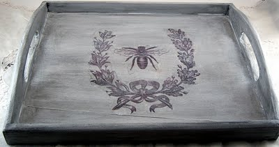 05 - Shabby Sweet Cottage - French Bee Tray