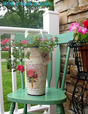 06 - With a Dash of Color - Pretty Rose Planter