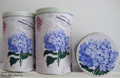 08 - Mikeys Mom - Hydrangea Tins