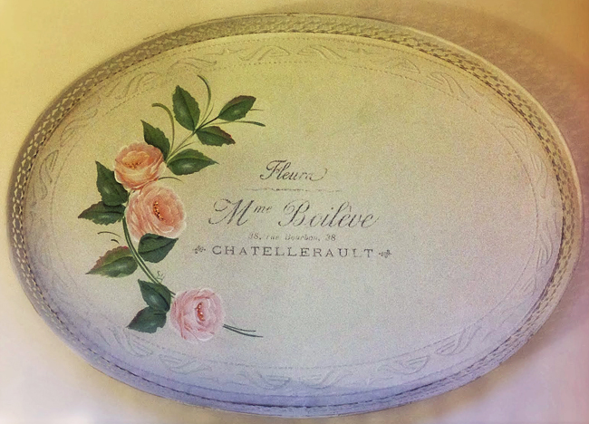 12 - Shooglie Crafts - French Painted Tray