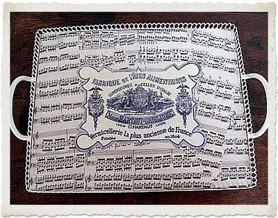 13 - My Shabby Chateau - Sheet Music Tray