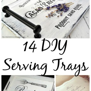14 DIY Serving Tray Ideas