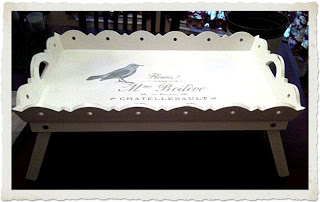 14 - In All Claireness - French Bird Tray