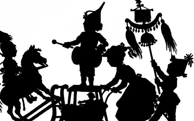 Free Silhouette Parade Image – Darling!