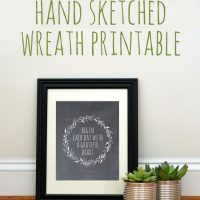 free_wreath_sketch_printable_graphicsfairy