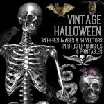 Vintage Halloween Kit